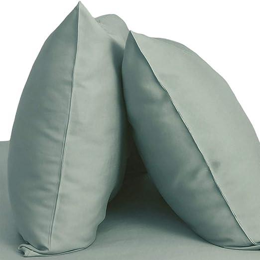 King, Tahitian Breeze 100/% Viscose From Bamboo Bedding Cariloha Resort Bamboo Pillowcases by 2 Piece Pillowcase Set