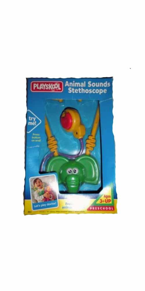 Playskool Animal Sounds Stethoscope B00WFOTQFE