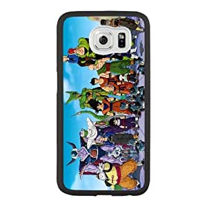 Generic Fashion Hard Back Case Cover Fit for Samsung Galaxy S6 Cell Phone Case black Dragon Ball FEW-7894005
