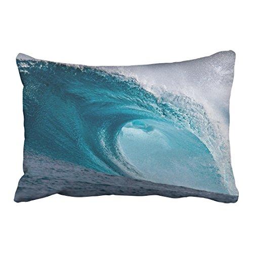 Cardinals Jersey Sham (Tarolo Decorative Home Decor Pillowcase Wave Surf Ocean Sea Beach Art Nature Printed Throw Pillow Sham Cushion Cover Size 20x30 inches(51x76cm) One Sided)
