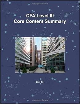Cfa level 3 practice essay questions