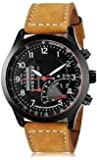 TESLO Analogue Brown Dial Men's Watch - Curren-Simple