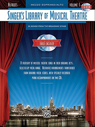 Singer's Library Of Musical Theatre Vol. 1, 2 Cds Mezzo Soprano/alto