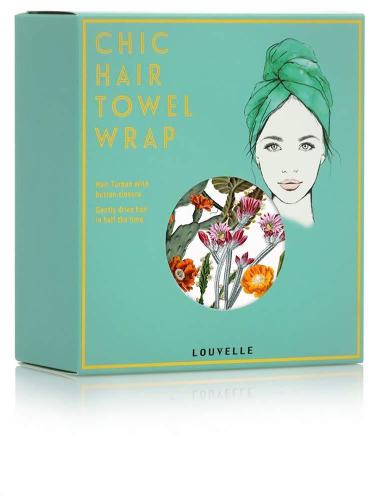 Louvelle - RIVA Hair Towel Wrap (Cactus Garden)