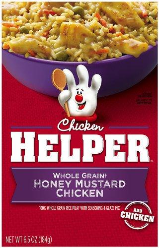 Betty Crocker Whole Grain Chicken Helper, Honey Mustard Chicken, 6.5-Ounce (Pack of 6 )