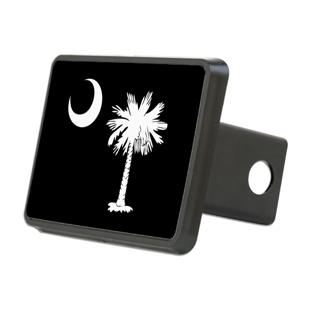 Trailer Hitch Cover Truck Receiver Hitch Plug Insert CafePress SC Palmetto Moon