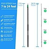 Eversprout 7-to-24 Foot Light Bulb Changer and