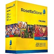 Rosetta Stone Version 4 Learn Italian Levels 1-4