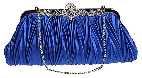 Royal Blue Satin Rhinestone - 9