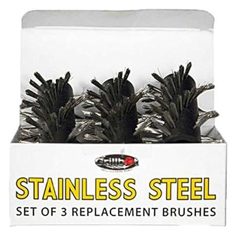 Grillbot Ersatz Pinsel für Grill 1 Stainless Steel Brush