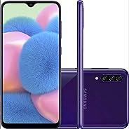 Celular Samsung Galaxy A30s 64gb Câmera Tripla 25mp + 5mp + 8mp (Violeta)