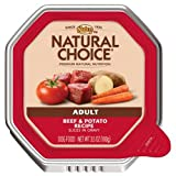 Natural Choice Adult Beef And Potato Recipe Slices In Gravy Tray-3.5 Oz.