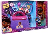 Doc Mcstuffins Doctor's Bag exclusive Gift Set with Doc Mcstuffins Doll & Sounds Light Stethoscope