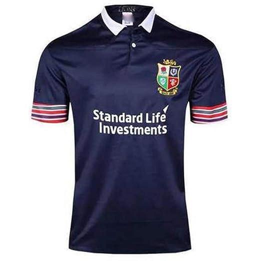 Irlanda Leones Rugby Camisetas de rugby para hombres Partidarios ...