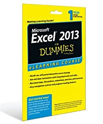 Excel 2013 For Dummies eLearning Course Access Code Card (12 Month Subscription) (Frommer's Portable Aruba, Bonaire & Curacao)
