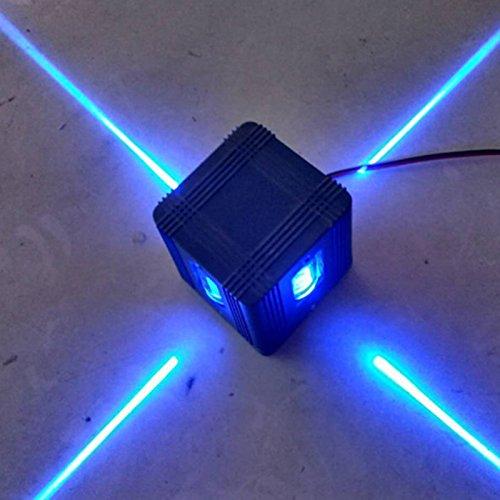 4W LED Wall Sconce Light Fixture Cross Starlight Lamp Outdoor Waterproof Building Exterior Decor Light Blue light