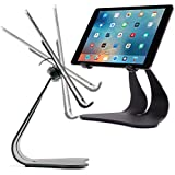 Thought Out Stabile PRO Adjustable iPad Stand Pro Air 2 12.9 10.5 9.7 Surface Galaxy Tablet Holder Pivoting Black - Made in USA