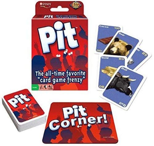 (Winning Moves Games The Pit Game)