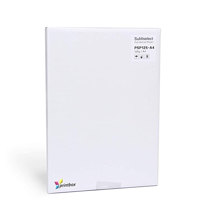 Papel de sublimación, 125 g, para impresora de inyección de ...