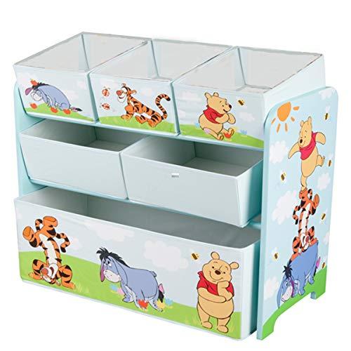 Disney Winnie Pooh Multi Toy Organizer für Spielzeug aus Holz mit ...