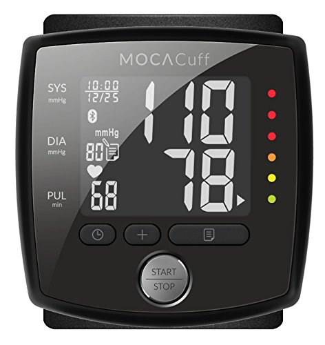 MOCACuff - Connected Wrist Blood Pressure Monitor (iOS/Android)