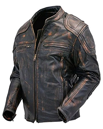 Mens Leather Motorcycle Jackets Sale - 1