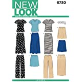 New Look Sewing Pattern 6730 Misses' Separates, Size A (Small - Medium - Large - X-Large)