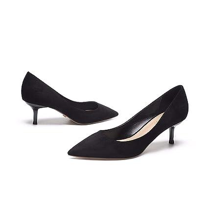 41750f571d708 Amazon.com : GTVERNH Women's shoes/fashion/Girls' High-Heeled Shoes ...