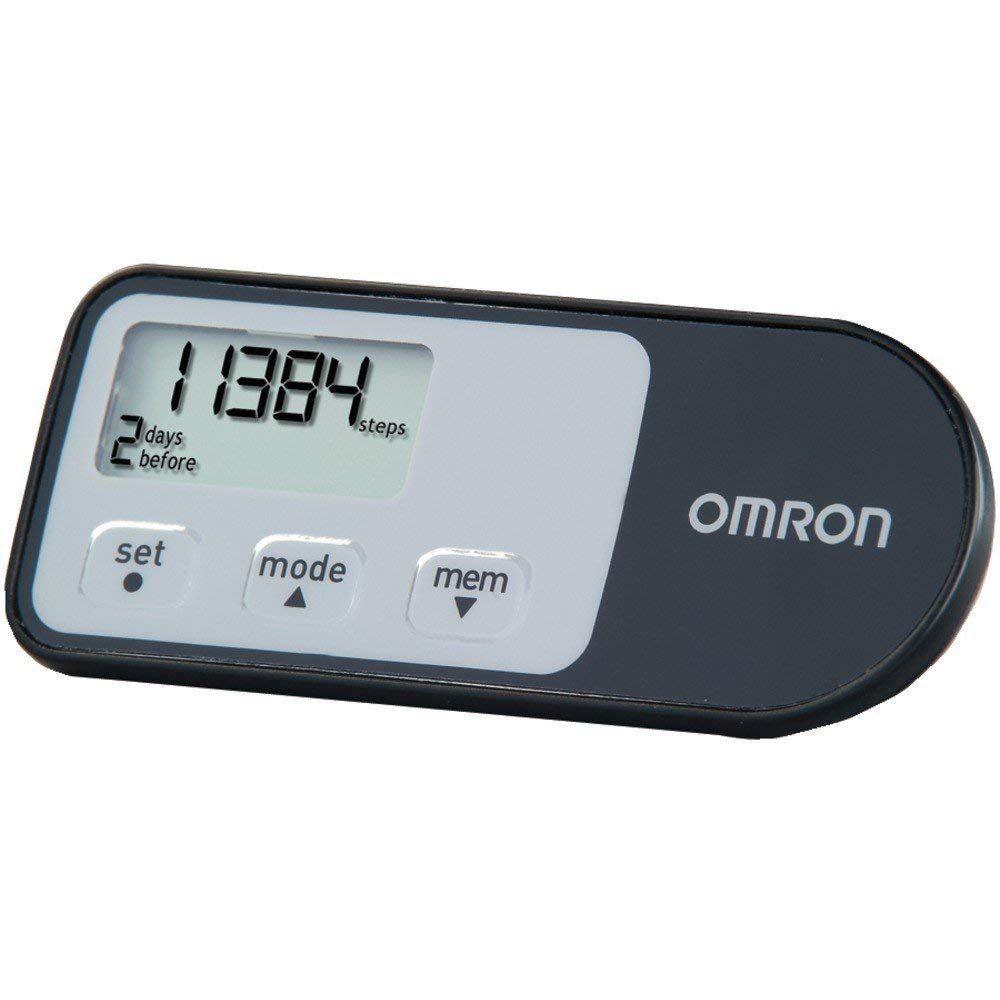 OMRON HJ-321 Alvita Optimized Pedometer with Four Activity Modes by Omron
