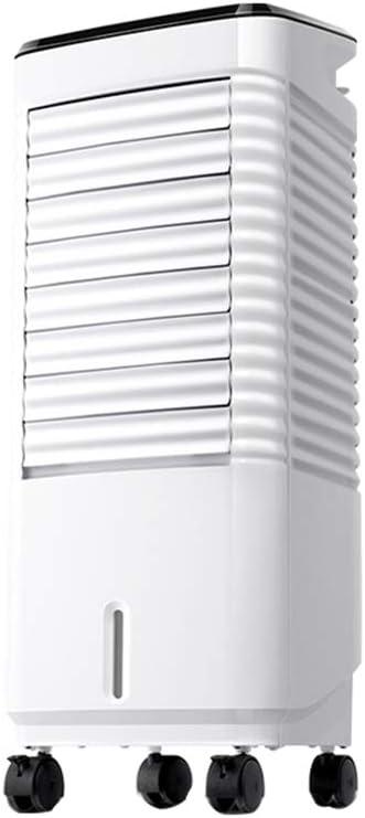 Stand fan Ventilador Individual De Aire Acondicionado para El Hogar Frío con Tanque De Agua De 8L 3 Velocidades, 15H Tiempo, Silencio Ventilador De Agua Y Agua Helada ...