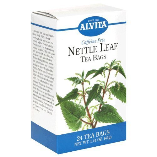 Alvita Tea Nettle Leaf 24 bag (PACK OF 6)
