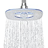 AKDY 8' Square Ultra-Thin Multi-Function Rainfall Waterfall Water Saving Bath Shower Head