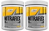 GAT Nitraflex Pre-Workout High-Intensity Training Formula, Pack of Two 30 Servings (Pineapple)