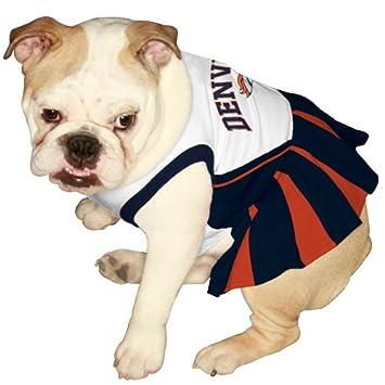 on sale ebfd4 3270e Denver Broncos Cheerleader Dog Dress