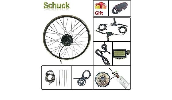 Schuck Kit de conversión de Bicicleta eléctrica Rueda del Motor ...