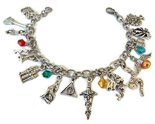 Little Wizard Inspired Charm Bracelet, Fashion Jewelry