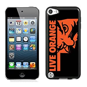 Beautiful And Popular Designed With NCAA Big 12 Conference Big12 Football Oklahoma State Cowboys 11 Protective Cell Phone Hardshell Cover Case For iPod 5 Phone Case Black