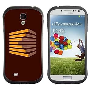 LASTONE PHONE CASE / Suave Silicona Caso Carcasa de Caucho Funda para Samsung Galaxy S4 I9500 / Plank heap