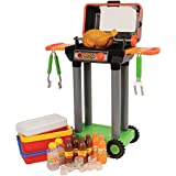 CP Toys Battery-operated Pretend Play Barbeque Grill and Cooler Set