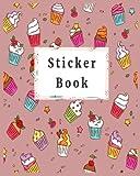 Sticker Book: Blank Permanent Sticker Book