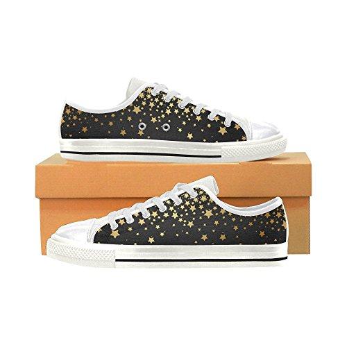 Yellow Shoes Classic Stars Canvas Custom Sneaker Story D Womens Fashion Txwqvg04