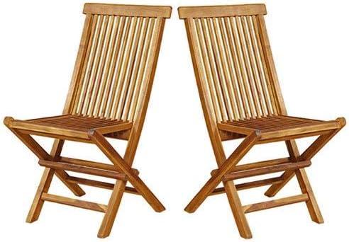 chaises jardin bois pliantes