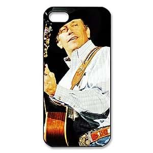 CTSLR Music & Singer Series Hard Plastic Back Case for iphone 5 - George Strait -(17.59) - 5