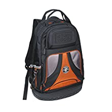Klein Tools 55421BP-14 Backpack, Multi Tool Bag and Tool Carrier, Heavy Duty Tradesman Pro Organizer with 39 Pockets and Molded Base