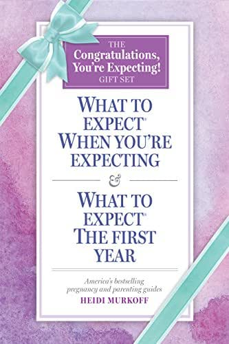 What to Expect: The Congratulations, You're Expecting! Gift Set: (Includes What to Expect When You're Expecting and What to Expect The First Year)