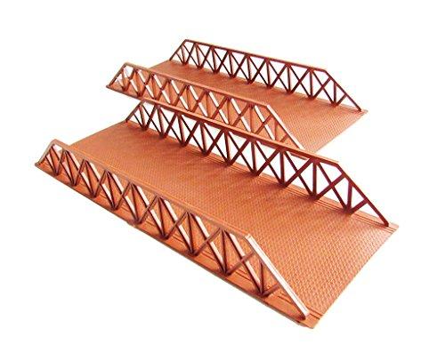 Army Battle Bridge Set - 8 inches (2 Pcs) (Plastic Bridge)