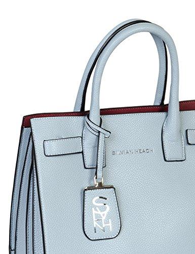 Bag Shopping Doppi Heach P RCP18072BOTA Manici MOD e applicabile Azzurro Donna VIVEIRO E18 Tracolla Silvian e Azzurro Braccio a Regolabile CEwqx5naXA