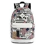 Mocha weir JIAYBL Laptop Backpack Eiffel Tower Backpack Casual Style Bookbags Children School Boys and Girls Backpack College Travel Backpack USA Flag European Style (USA Flag)