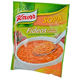 Knorr Tomato Fideos Pasta Soup (12 packs)
