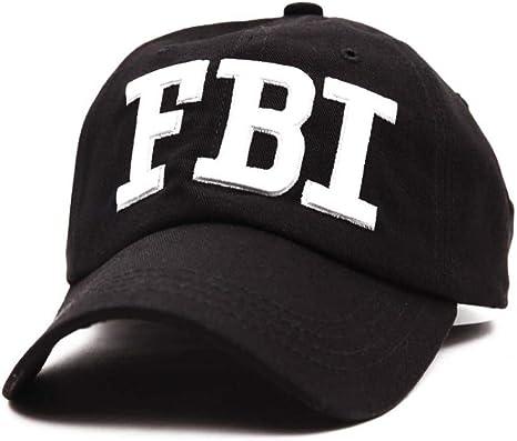 MAOZIJIE Bordado Policía, FBI, Gorra De Béisbol, Sombreros De ...